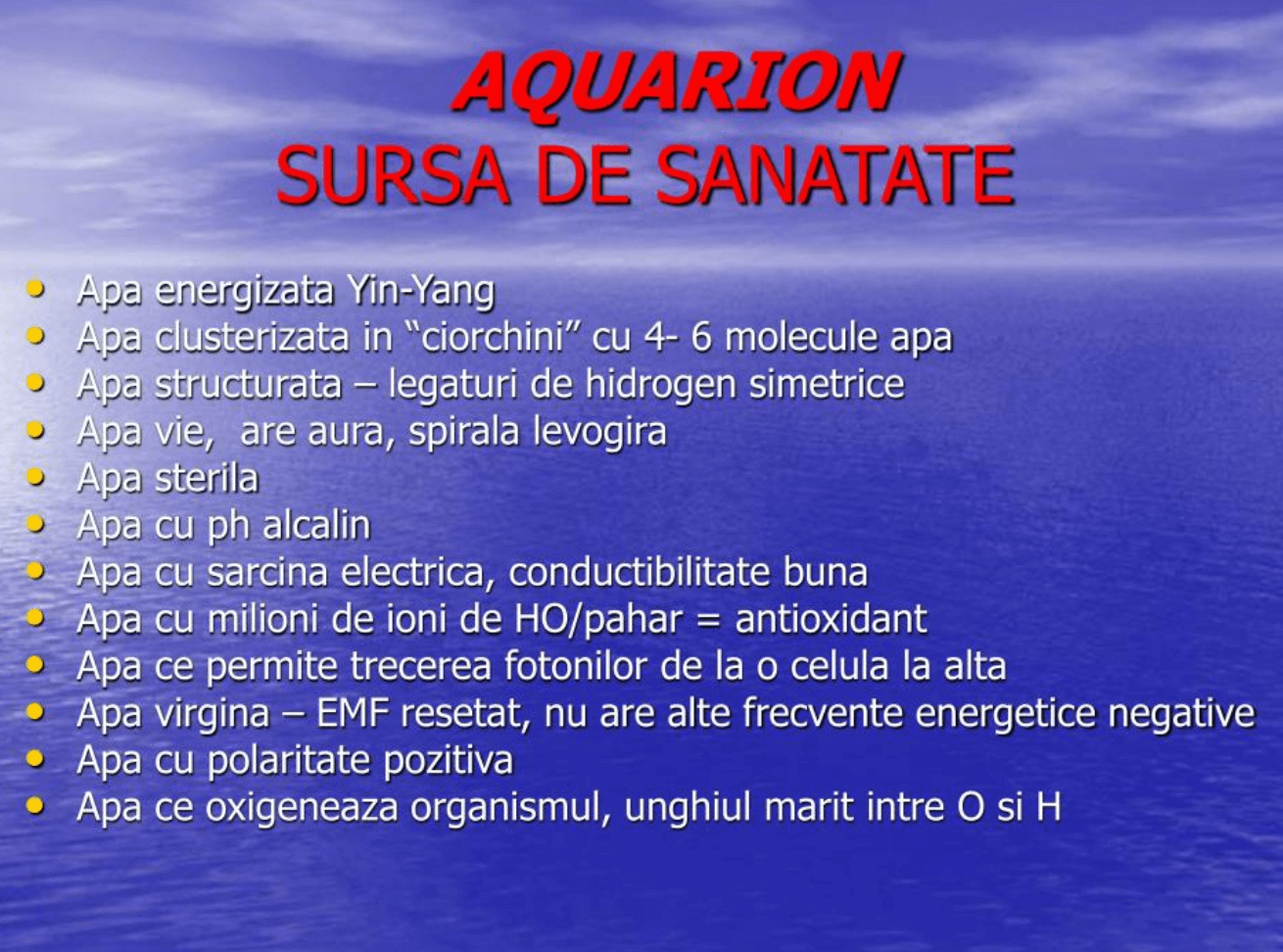 Prezentare Aquarion